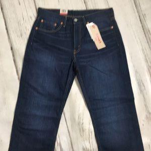 Levi's 514 Strait Leg Jeans NWT 32 x 30 Dark Blue